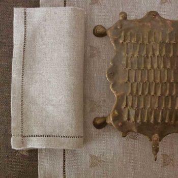 """Linen tablecloth """"Ape Rustica"""""""