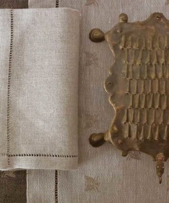 "Linen tablecloth ""Ape Rustica"""