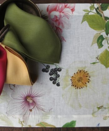 Linen placemat Ibisco