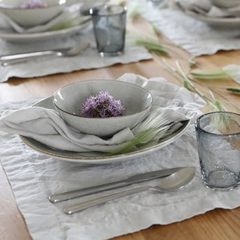 Linen Placemat Stone Washed