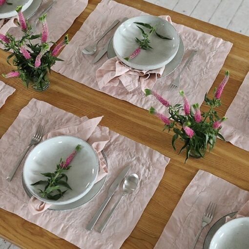 "Linen Placemat ""Stone Washed"""