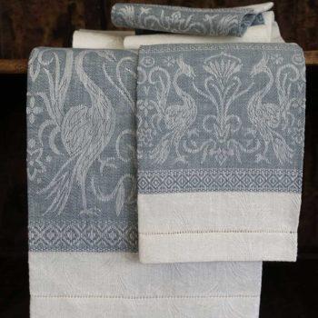"""Asciugamano di lino """"Grifo"""""""