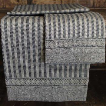 """Asciugamano di lino """"Iris Rustica"""""""