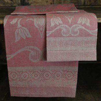 """Asciugamano di lino """"Damasco Rustica"""""""