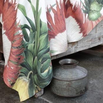 "Mantel de lino ""Fritillaria"""