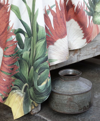 """Linen tablecloth """"Fritillaria"""""""