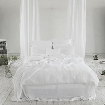 "Duvet cover ""Stone Washed"" Optical White"