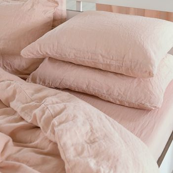 "Duvet cover ""Stone Washed"" Pink"