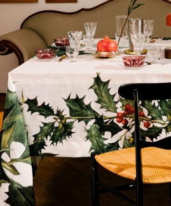 """Linen tablecloth """"Ilex"""""""