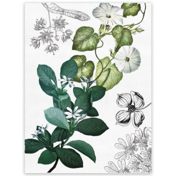 Linen tea towel Knighthia 2