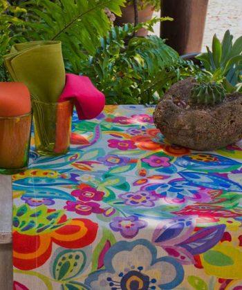 Camino de mesa de lino Rio
