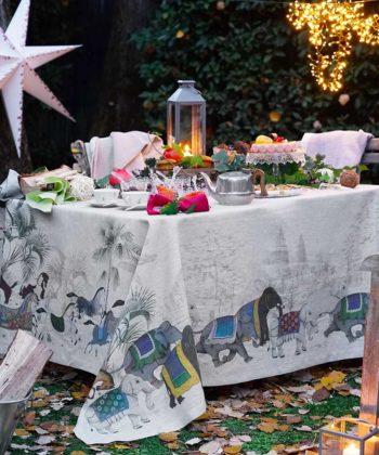 Linen Tablecloth Barnum