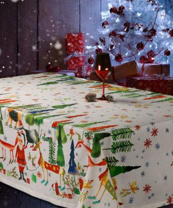 Mantel Navidad Bosco