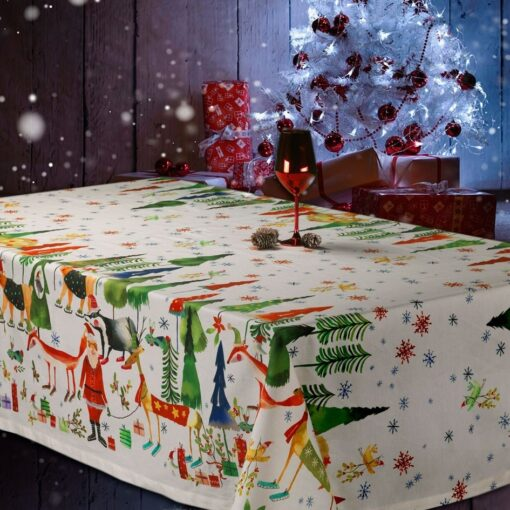 Tablecloth Natale nel bosco