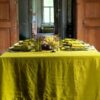 "Tablecloth ""Stone Washed"" Citrine"