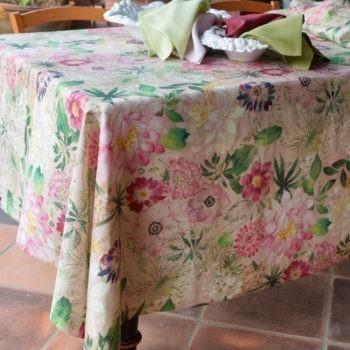 Tovaglia di lino La Vie En Rose