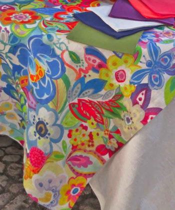 Linen tablecloth Rio