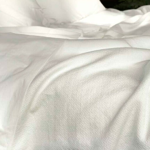 Cotton percal bed sheets set