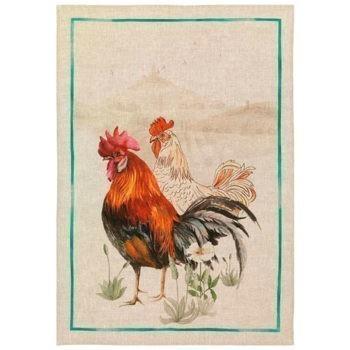 Secador de lino Gallos negros