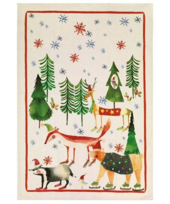 Secador Navidad Bosco - Rojo