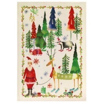 Secador Navidad Bosco - Verde