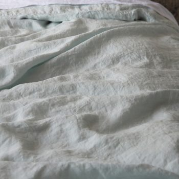 "Duvet cover ""Stone Washed"" Ice Blue"