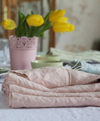 "Linen napkin ""Stone Washed"""
