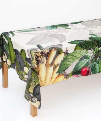 "Linen tablecloth ""Fructus"""