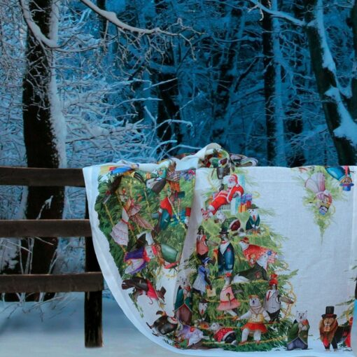 Mantel navideño Magical Tree