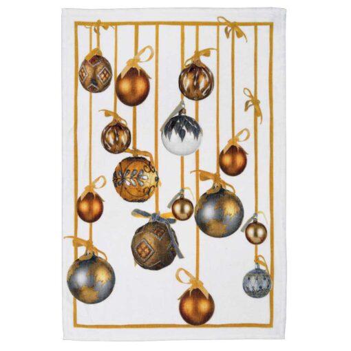 "Strofinaccio de lino ""Golden Jingle"" - Oro"