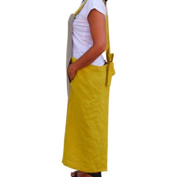Apron - Washed linen
