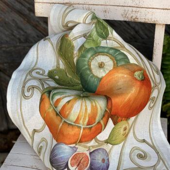 secador calabaza naranja