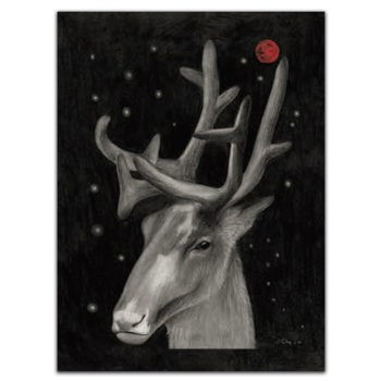Tea towel Arco - Deer 1