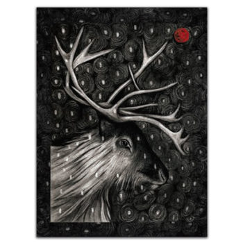Tea towel Arco - Deer 2