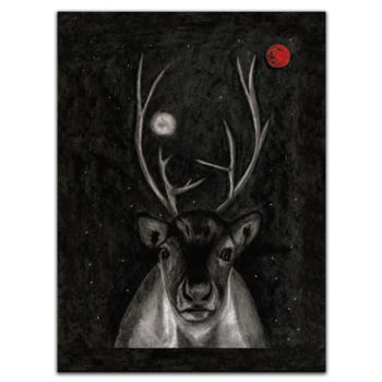 Tea towel Arco - Deer 3