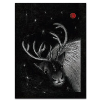Tea towel Arco - Deer 4