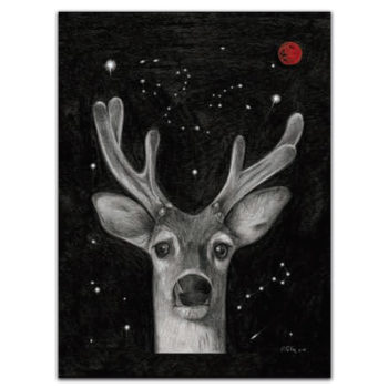 Tea towel Arco - Deer 5