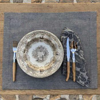 Tovaglietta di lino Micron la bottega di casa