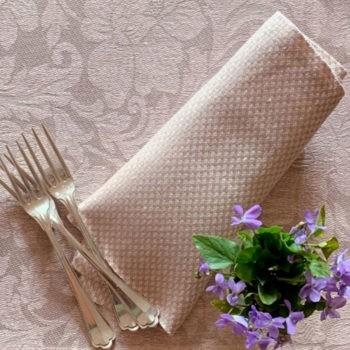 Tovagliolo di lino Micron Rosa