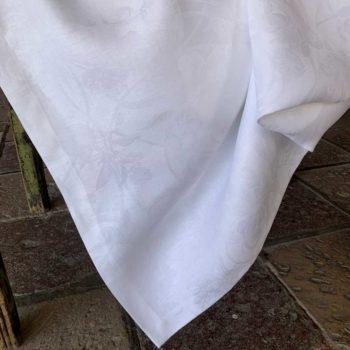 Tovaglia di Lino Tivoli - Bianco