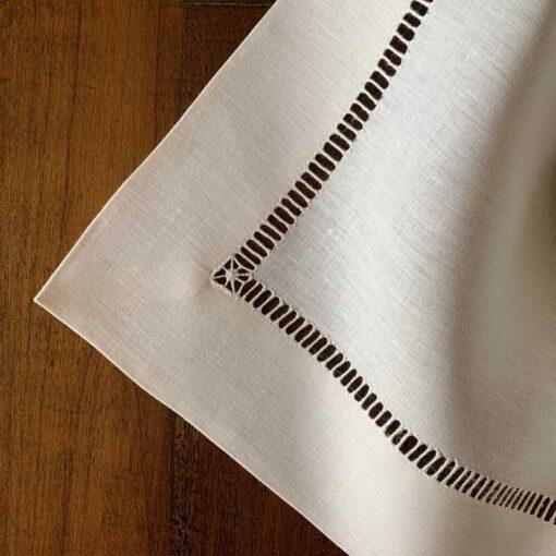 """tovaglia di lino """"bastoncino' - La Bottega di Casa"""