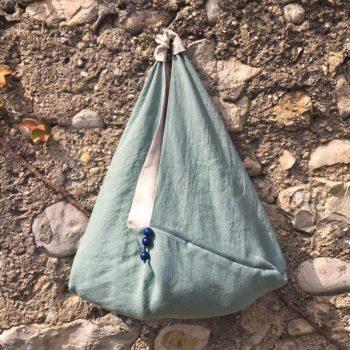 borsa verde acqua