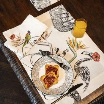 tovaglietta di lino Andre- La Bottega di Casa