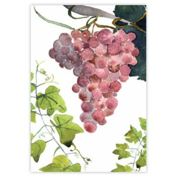 Strofinaccio di lino Grapes 2- La Bottega di Casa