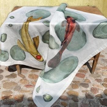 Tablecloth Carpe- La Bottega di Casa