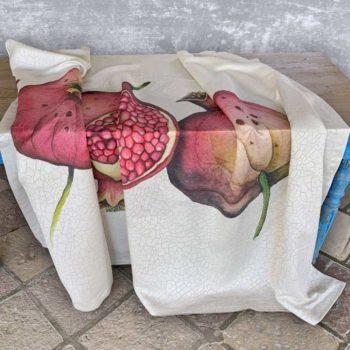 Tablecloth Pomegranate - La Bottega di Casa