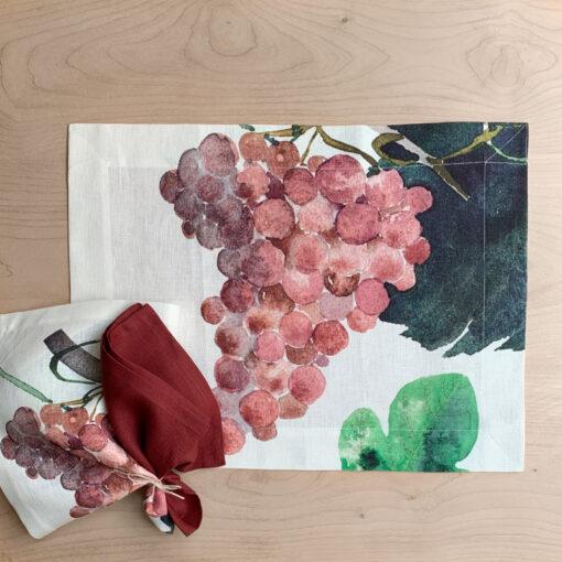 individual grapes