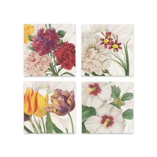set 4 tovaglioli garden eden - La Bottega di Casa