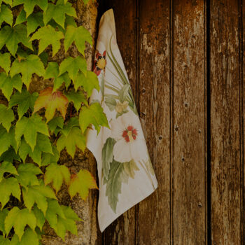 Strofinaccio di lino Garden Eden 1- La Bottega di Casa