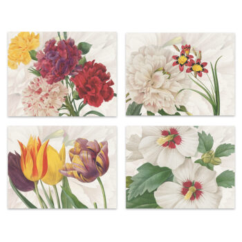 Set di 4 tovagliette e tovaglioli Garden Eden- La Bottega di Casa